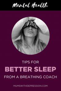 better sleep for mental health