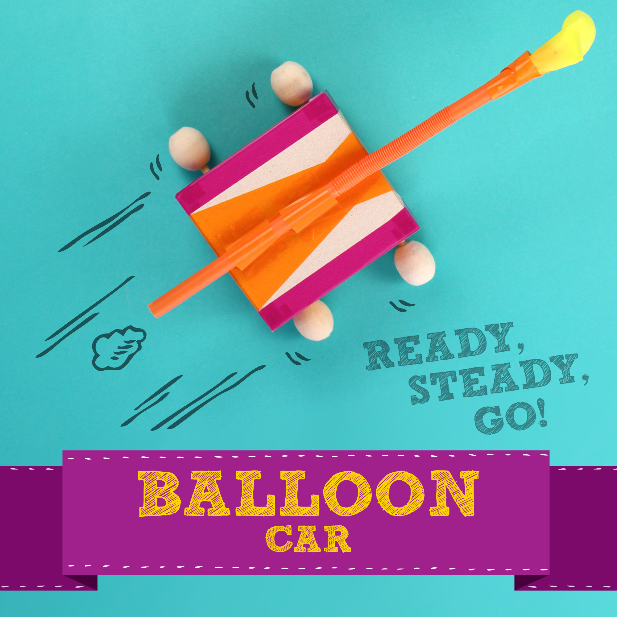 How To Make A Balloon Car