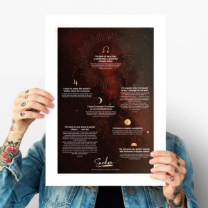 soul purpose poster read soul map