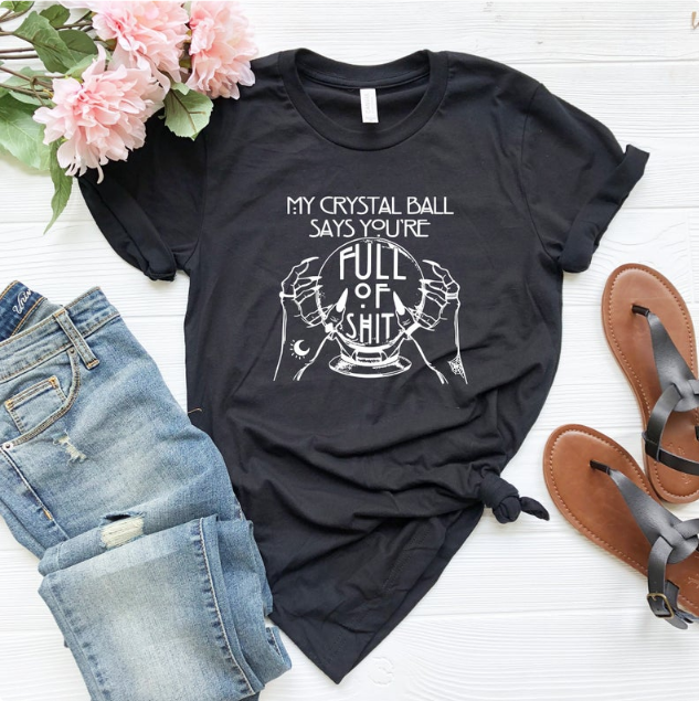 fortune teller shirt for scorpio gift