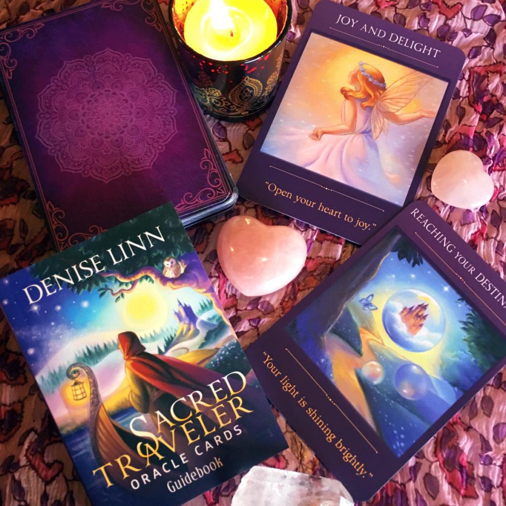 sacred traveller oracle deck