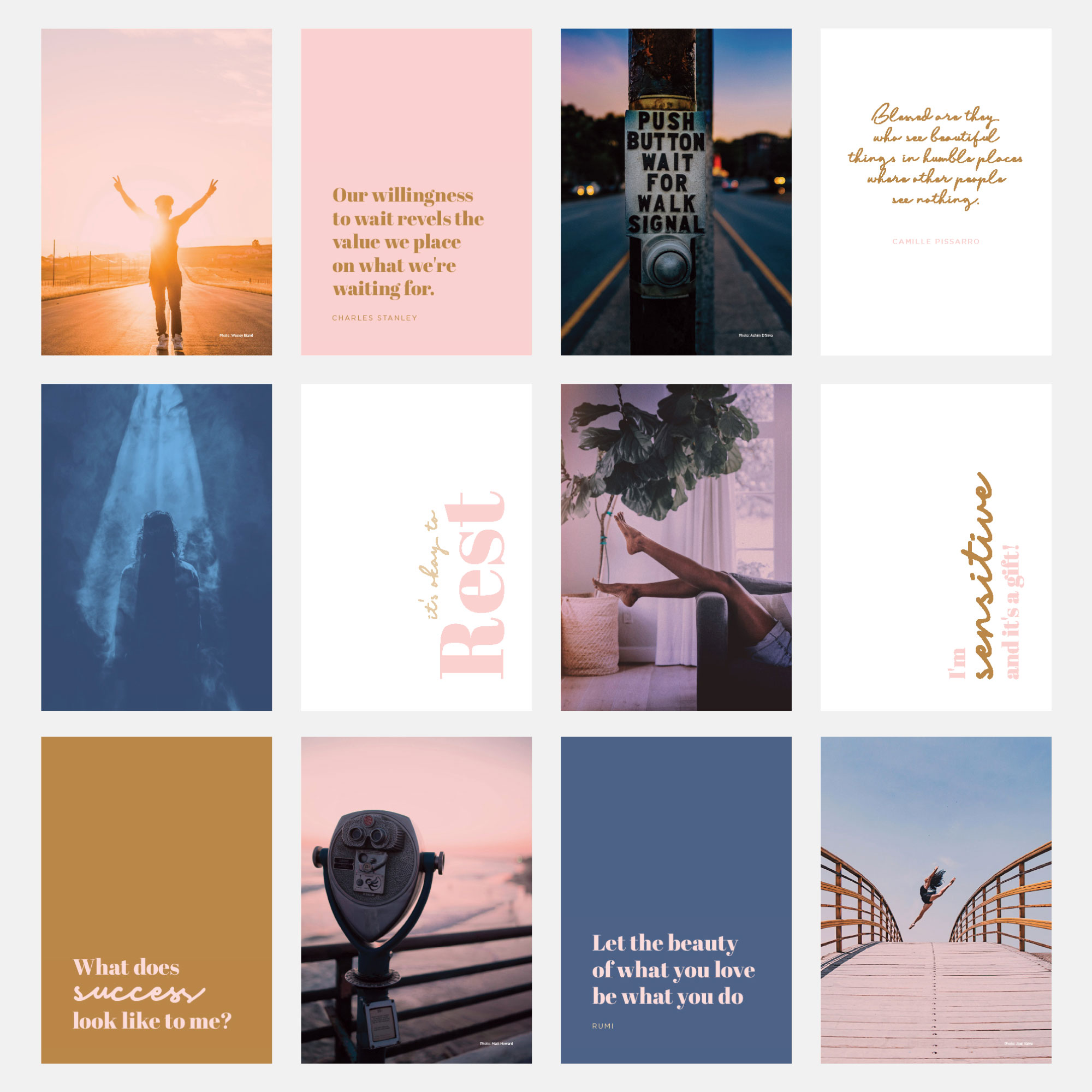 human design energy type collage art
