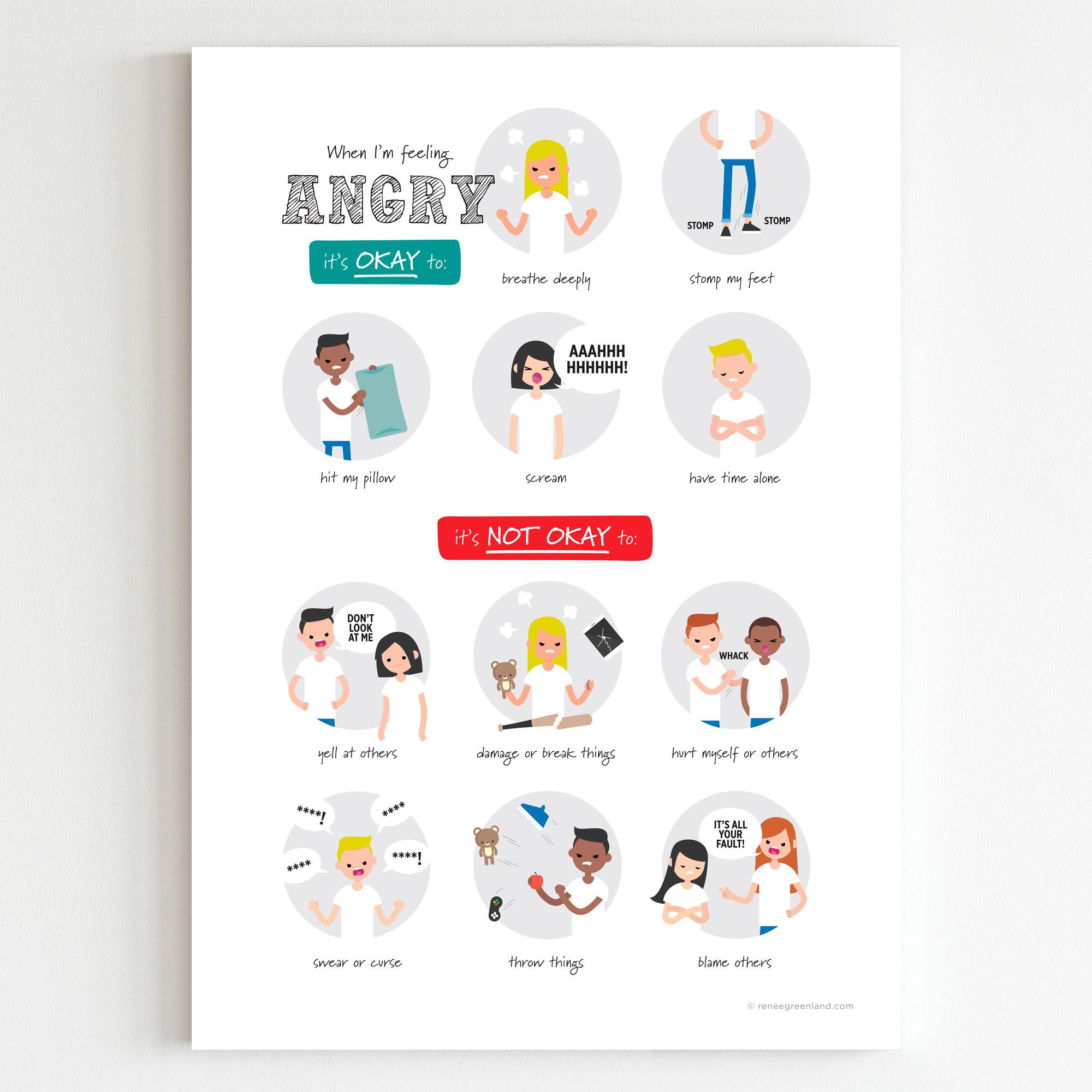 feelings posters for kids